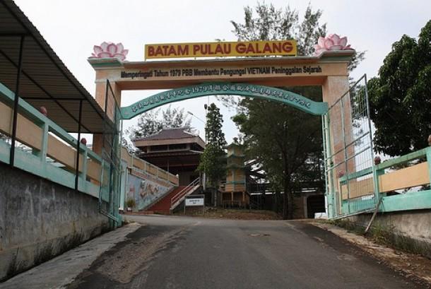 Galang island, Batam.