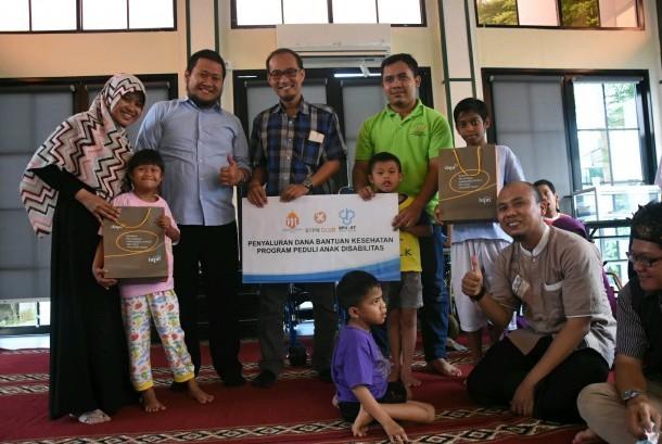 Kegiatan DPU DT dan Muslim BTPN di Yayasan Sayap Ibu Tangsel