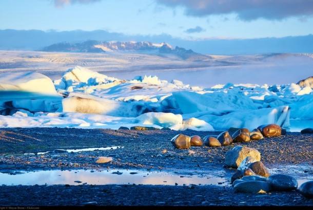 Keindahan alam Islandia