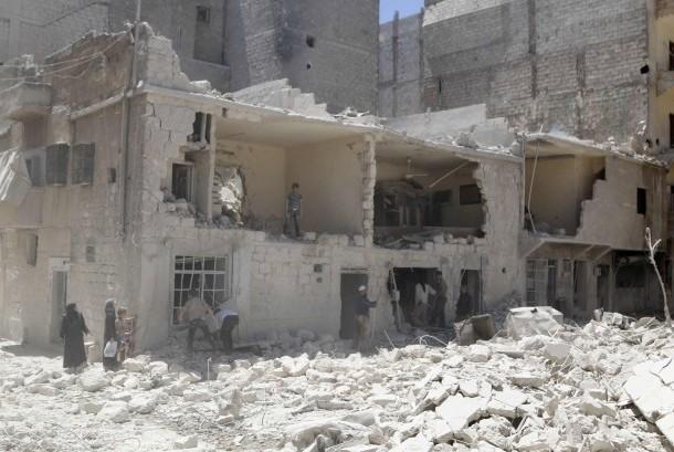Kekerasan masih terus melanda Suriah (ilustrasi)