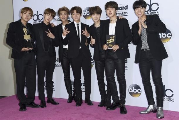 Kelompok musik Korea BTS.