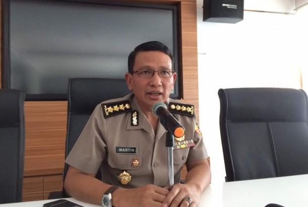 Kepala Bagian Penerangan Umum (Kabagpenum) Divisi Humas Polri Kombes Martinus Sitompul.