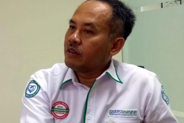 Kepala BPJS Kesehatan Divre V Jabar dr Mohammad Edison MM AAK