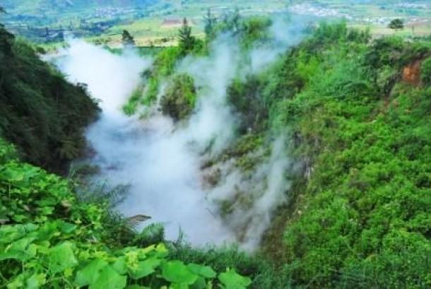 Dieng plateau, Batur, Banjarnegara, Central Java.