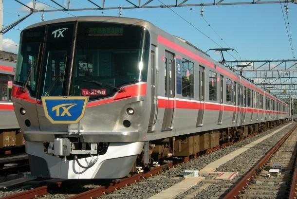 Kereta Tsukuba Express.