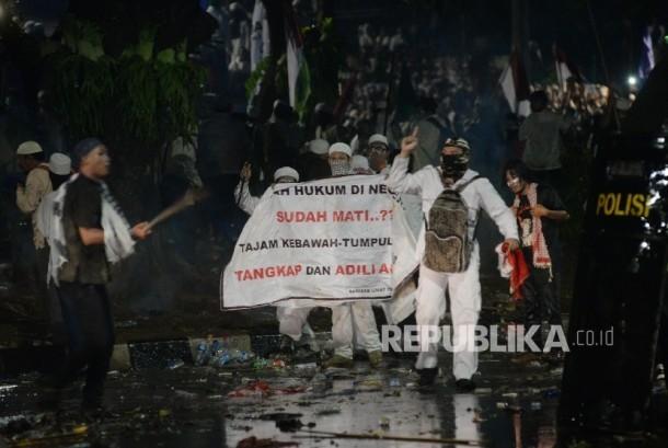 Dunia Soroti Demonstrasi Besar 4 November Republika Online