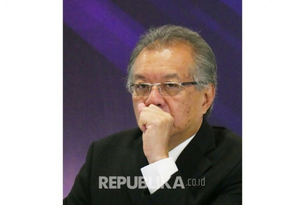 Ketua Dewan Komisioner Lembaga Penjamin Simpanan (LPS) Halim Alamsyah.