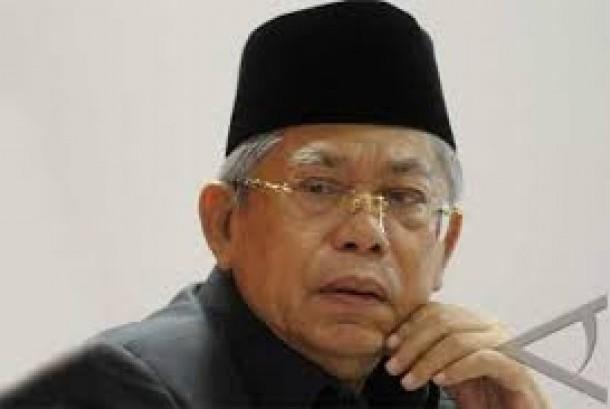 Ketua Dewan Syariah Nasional Majelis Ulama Indonesia (DSN MUI), Ma'ruf Amin