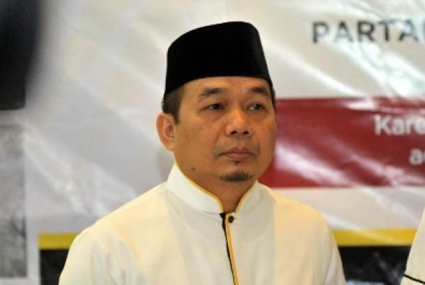 Ketua Fraksi PKS di DPR Jazuli Juwaini.