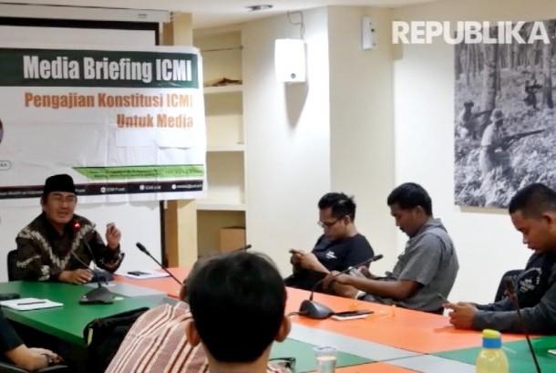 Ketua Ikatan Cendekiawan Muslim Indonesia (ICMI), Jimly Asshiddiqie