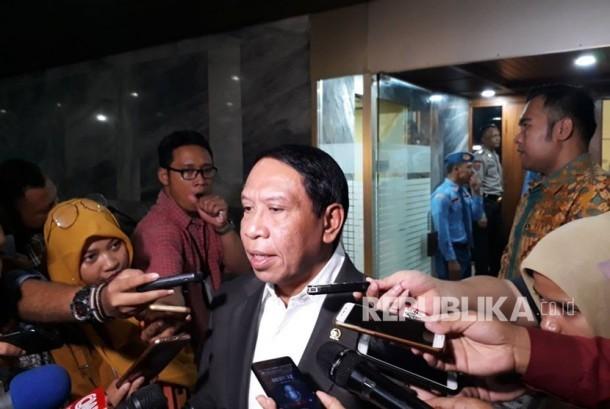 Ketua Komisi II DPR Zainudin Amali