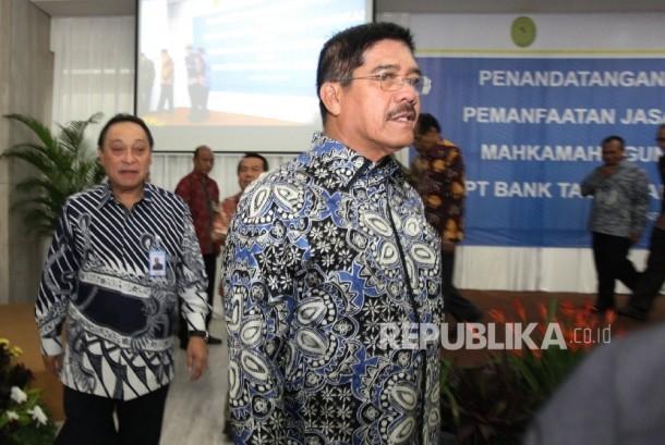 Ketua MA Hatta Ali (tengah)