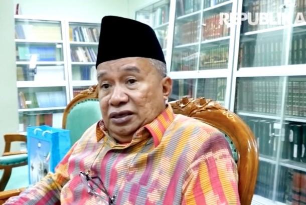 Ketua Majelis Ulama Indonesia (MUI) Bidang Hubungan Luar Negeri, Muhyiddin Junaidi