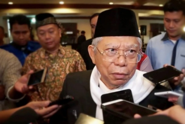Chairman of Indonesian Council of Ulama (MUI), KH Ma'ruf Amin