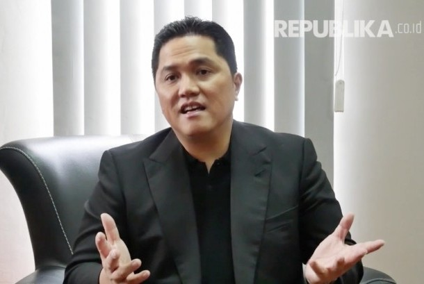 Ketua Panitia Penyelenggara Asian Games atau Indonesia Asian Games 2018 Organizing Committee (Inasgoc) Erick Thohir