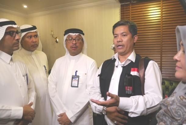 Ketua PPIH Arab Saudi Ahmad Dumyathi Basori