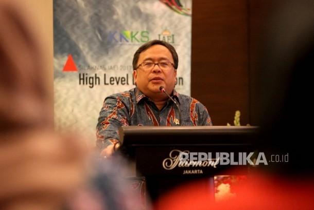 Menteri Perencanaan Pembangunan Nasional (PPN)/Kepala Badan Perencanaan Pembangunan Nasional (Bappenas) Bambang P Soemantri Brodjonegoro