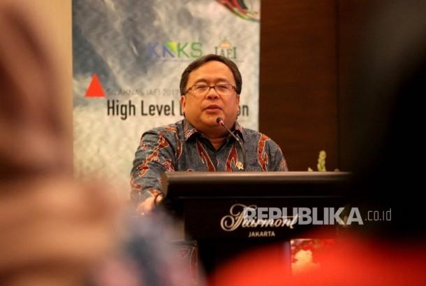 Kepala Badan Perencanaan Pembangunan Nasional (Bappenas) Bambang Brodjonegoro.