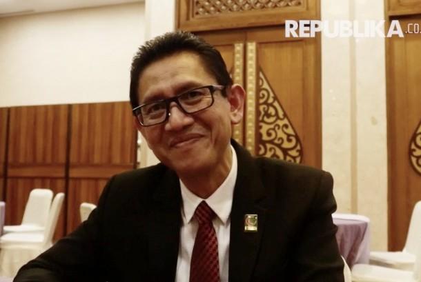 Ketua Umum Majelis Upaya Kesehatan Islam Seluruh Indonesia Masyhudi