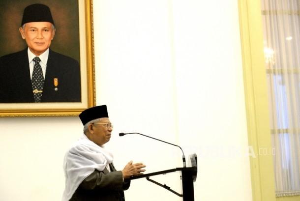 Ketua Umum MUI, KH Maruf Amin.