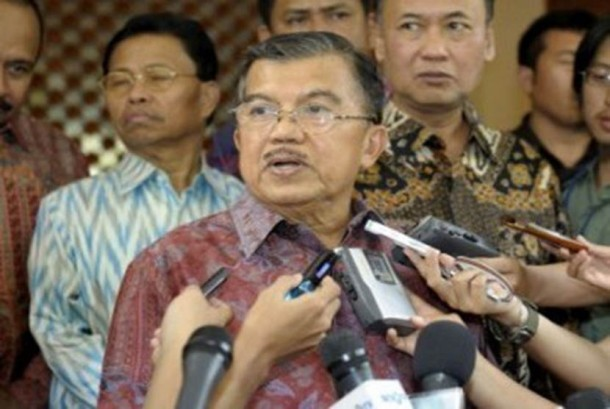 Ketua Umum Palang Merah Indonesia (PMI) dan mantan Wakil Presiden, Jusuf Kalla.