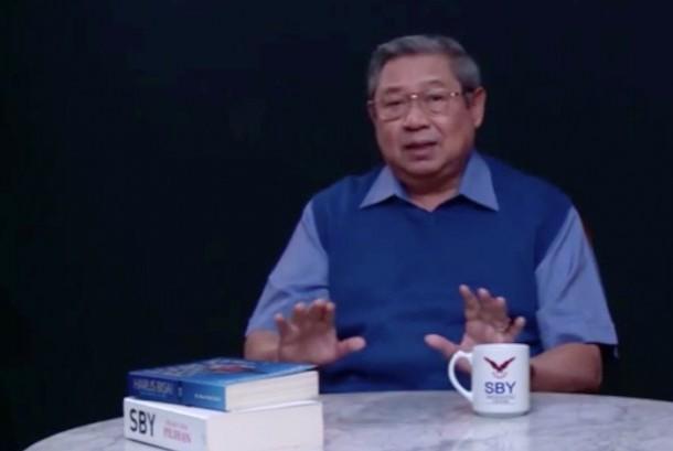 Ketua Umum Partai Demokrat, Susilo Bambang Yudhoyono