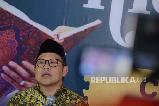 Ketua Umum Partai Kebangkitan Bangsa Muhaimin Iskandar
