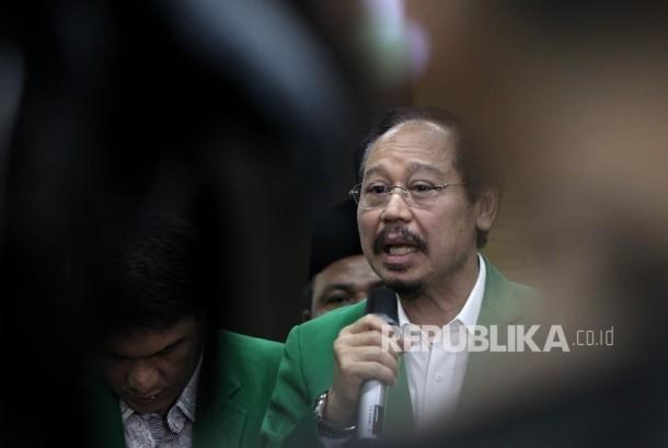 Ketua Umum Partai Persatuan Pembangunan (PPP) versi mukhtamar Jakarta, Djan Faridz.