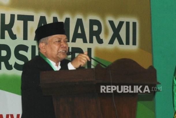 Ketua Umum Persis, Aceng Zakaria (ilustrasi)