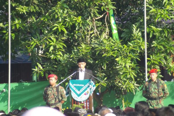 Ketua Umum Pimpinan Pusat Muhammadiyah Haedar Nashir