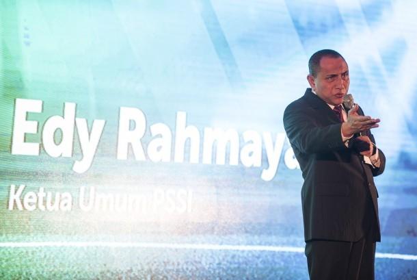 Ketua Umum PSSI Edy Rahmayadi.