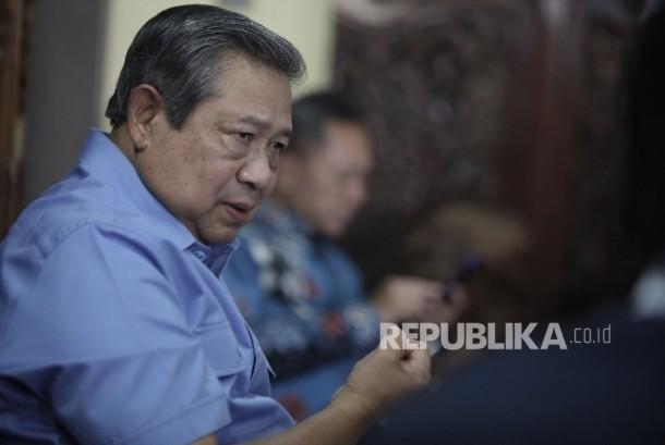 Ketua Umum Susilo Bambang Yudhoyono (SBY)