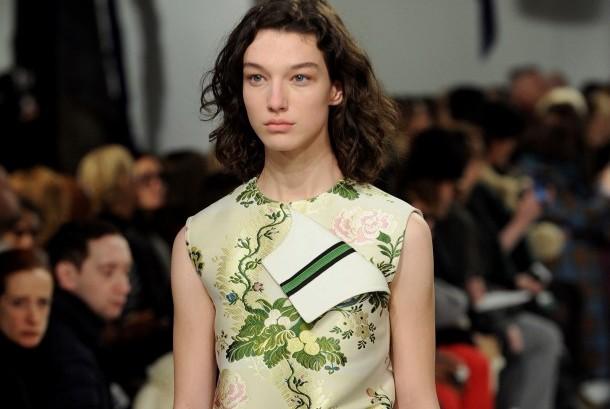 Koleksi Calvin Klein di New York Fashion Week.