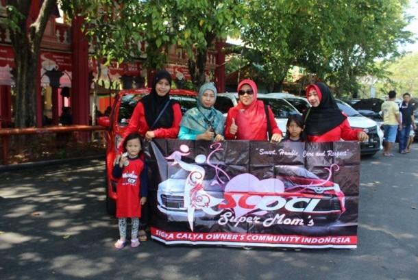 komunitas SCOCI Chapter Surabaya (SCS) menggelar kegiatan kumpul bersama