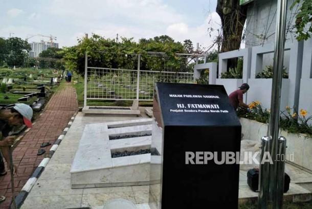 Makam Ibu Fatmawati akan Direnovasi