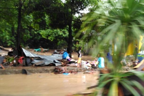 Korban banjir (ilustrasi)