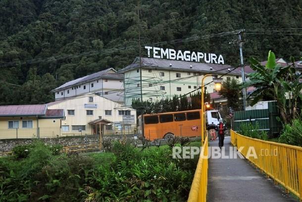 Kota Tembagapura yang indah dan dingin tempat para pekerja tambang PT Freeport Indonesia tinggal. Segala fasilitas tersedia di kota kecil ini.