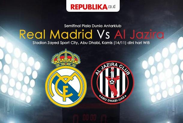 Laga Piala Duniat Antar Club, Madrid vs Al Jazira