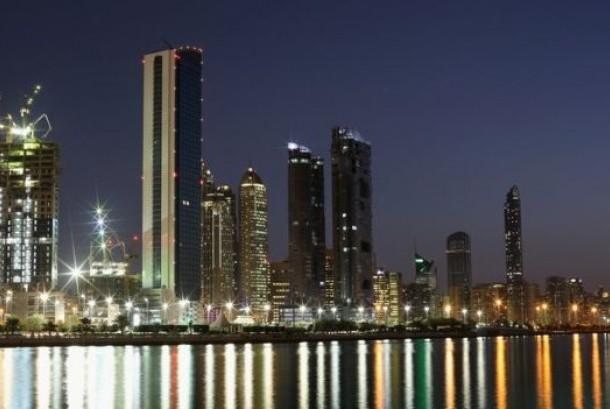 Lanskap Abu Dhabi, ibu kota Uni Emirat Arab
