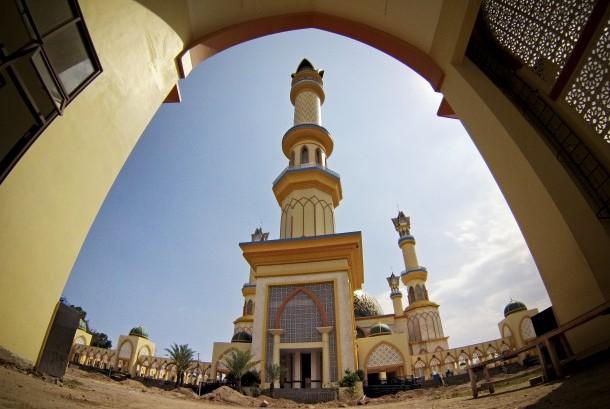 Pesona Islamic Center Di Pulau Seribu Masjid Republika Online