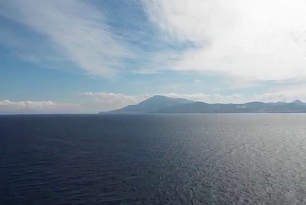 Lautan yang mempertemukan Samudera Atlantik dan Laut Mediterania.