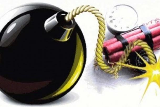 ledakan granat (ilustrasi)