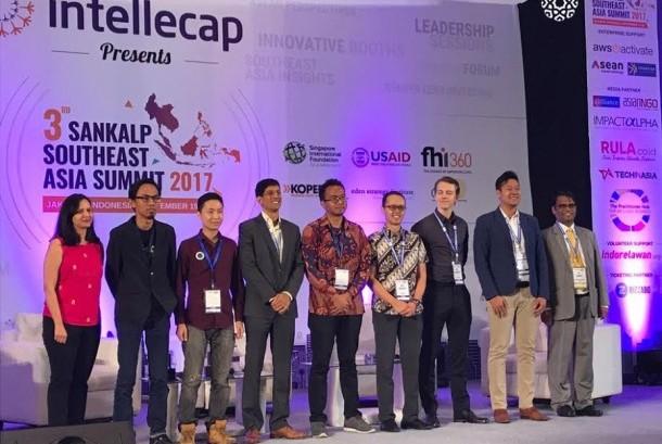 Lembaga pembiayaan Amartha ditetapkan sebagai pemenang kompetisi Sankalp Southeast Asia Award 2017.