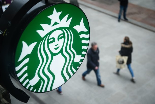 Logo kedai kopi Starbucks