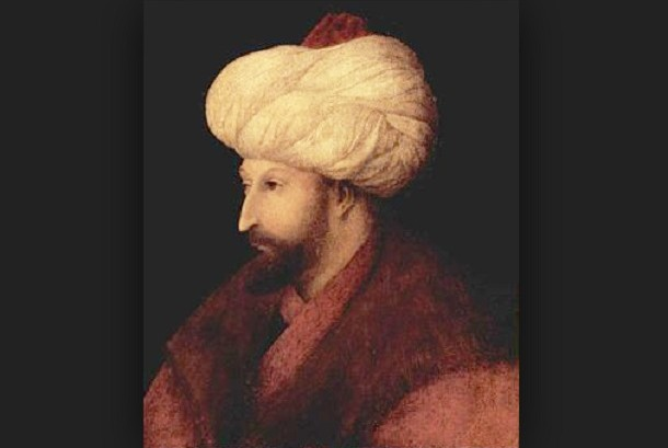 Lukisan Sultan Muhammad Al Fatih