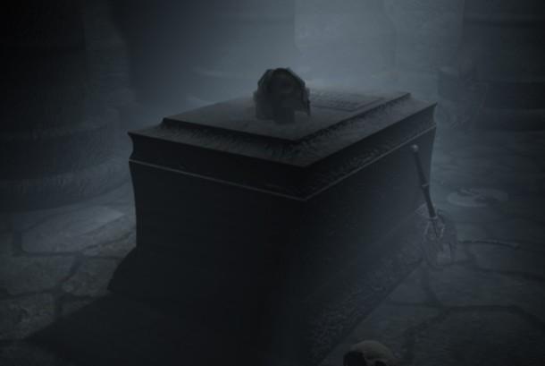 Makam Vampir (ilustrasi)