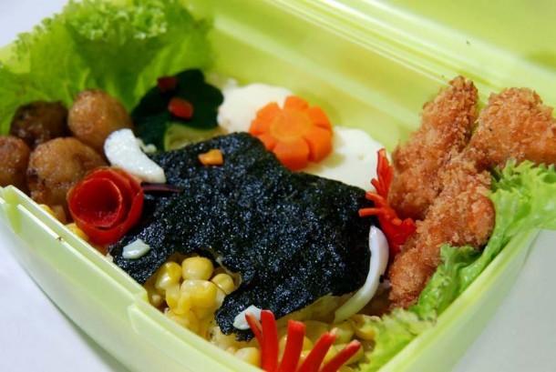 Makanan menarik, sehat dan bergizi untuk anak (ilustrasi).