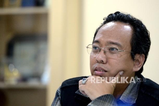 Manajer Aksi Cepat Tanggap (ACT) Lukman Azis Kurniawan.