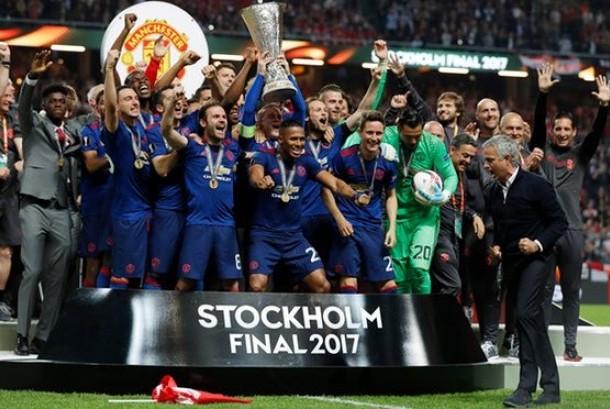Manchester United menjadi juara Piala Liga Europa setelah mengalahkan Ajax dengan 2-0, Rabu (24/5) waktu setempat.