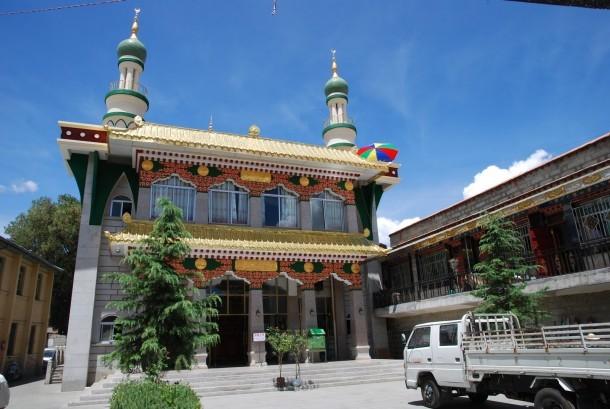 Masjid Agung Lhasa, Tibet.